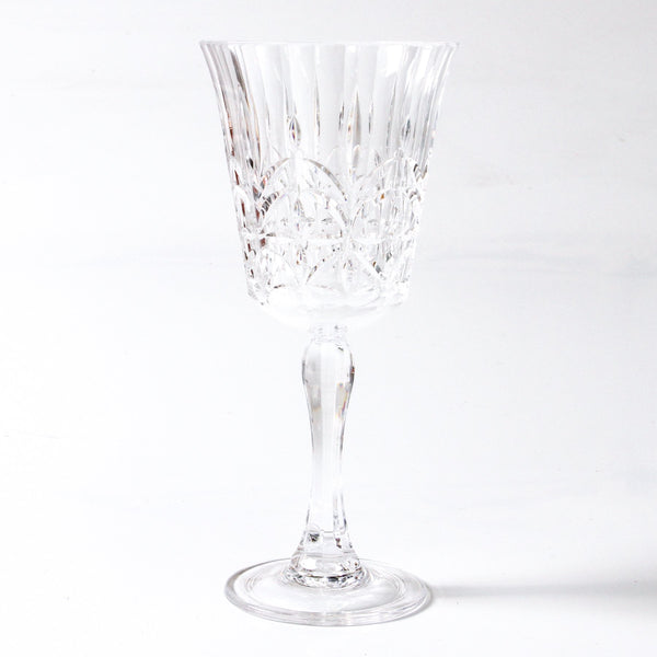 Pavillion Acrylic Wine Glass: Clear