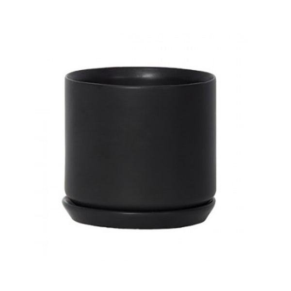 Medium Oslo Planter: Black