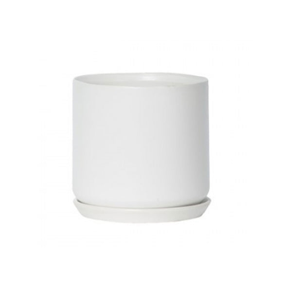 Large Oslo Planter: White