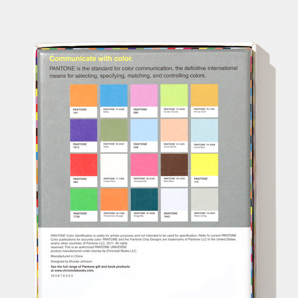 Pantone Notes: 20 Different Notecards & Envelopes