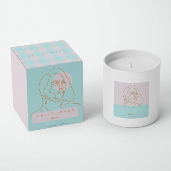 Rhea Goddess Candle: Large