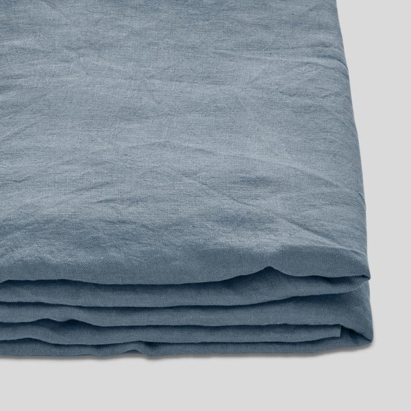 Linen Flat Sheet: Lake *preorder*