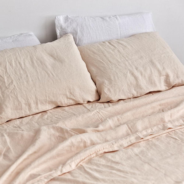 Euro Pillowcase Set: Peach
