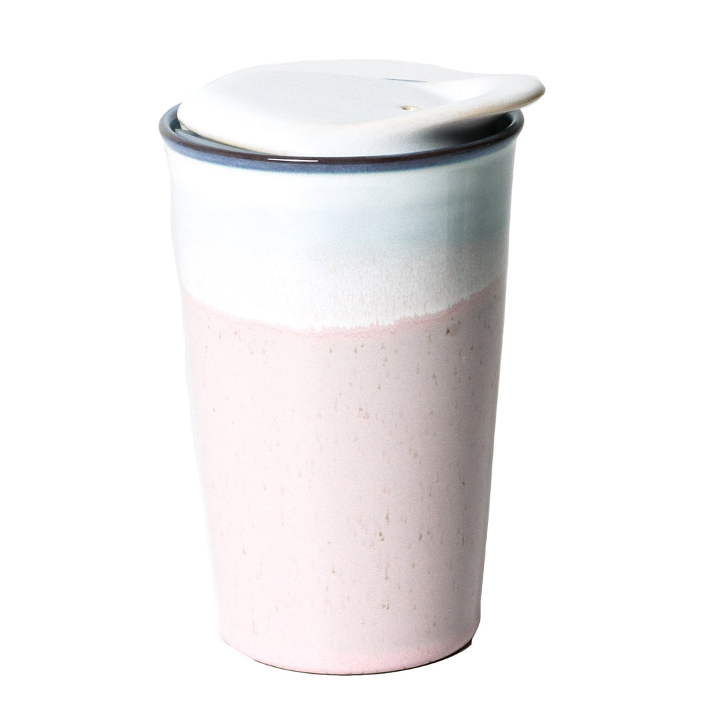 It's A Keeper Ceramic Cup: Strawberry Milk