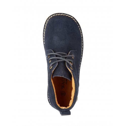 Kids' Harry Navy Desert Boot