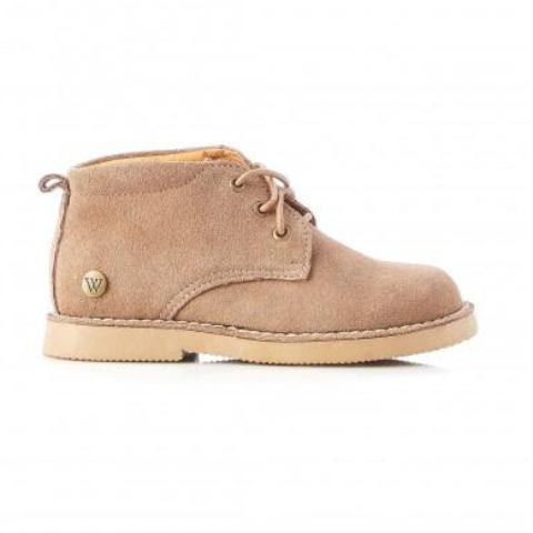 Kids' Harry Taupe Desert Boot