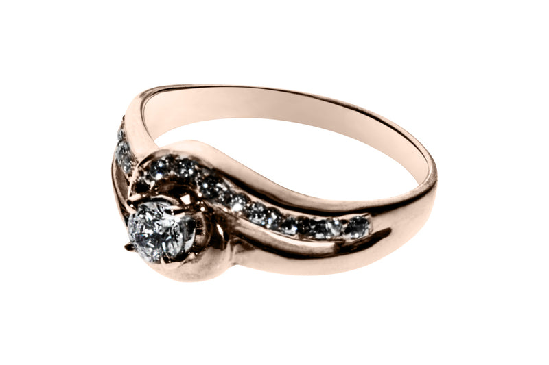 Montadura Anillo Couple (No Incluye Diamante)