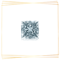 Diamante Princesa 0.15 CT Pureza SI1
