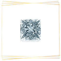 Diamante Princesa 0.25 CT Pureza SI1