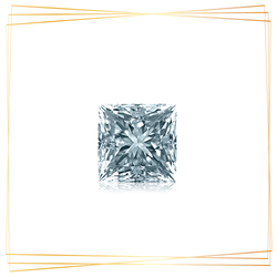 Diamante Princesa 0.10 CT Pureza SI1