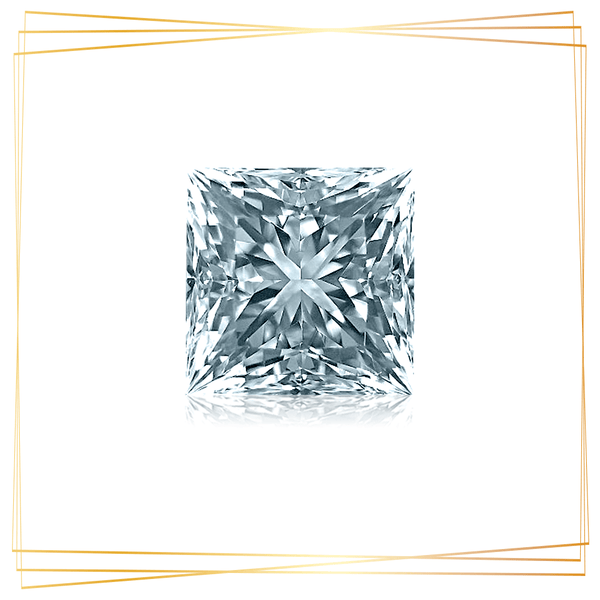Diamante Princesa 0.40 CT Pureza SI1