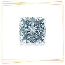 Diamante Princesa 0.50 CT Pureza SI1