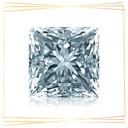 Diamante Princesa 0.90 CT Pureza SI1