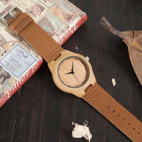 Bamboo Watch - Ola19