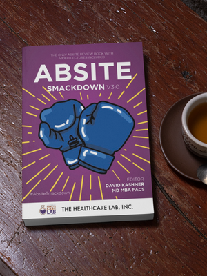 ABSITE Smackdown! v2.0 Book + Video Lecture Series