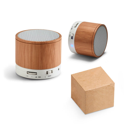 Cassa bluetooth in bamboo