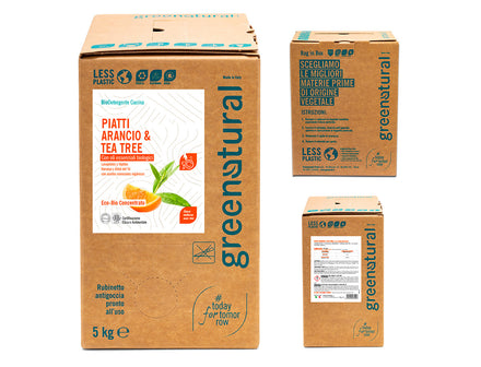 Bag in Box - Piatti Arancio & Tea Tree (5/10kg)