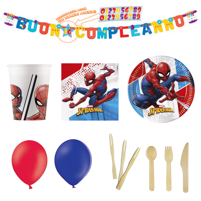 Kit festa - Spiderman