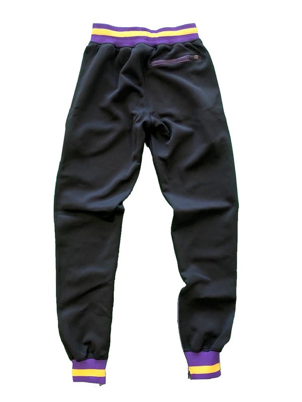 "Altatude ""Logo"" joggers black/purple"