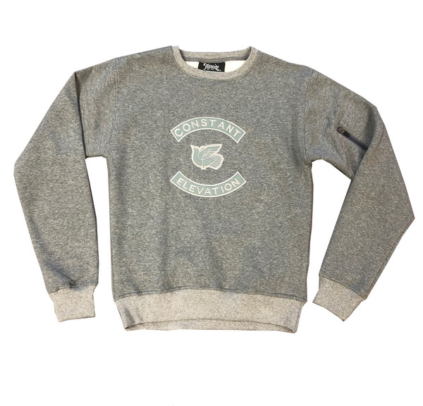 "ALTATUDE ""Constant Elevation"" Grey Crew"