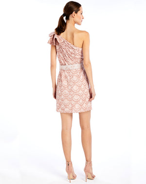 MIRABELLA MINI DRESS IN DEW DROPS