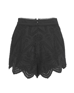 LOLA SHORTS IN BLACK