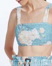 LULU BRALET IN TEAL POSEY
