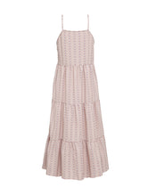 KINDRED HOLIDAY | TIERED MIDI DRESS IN PINK CHECK
