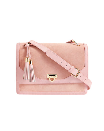 MARYBETH SHOULDER BAG IN ROSE