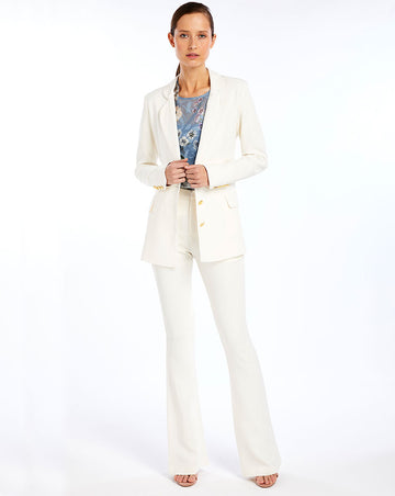 BETSY TAILORED PANT IN IVORY