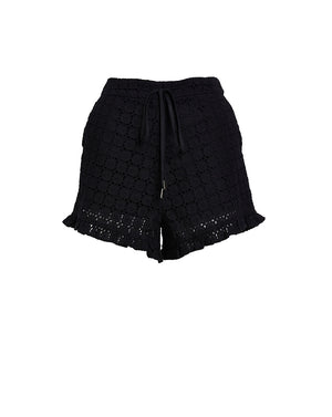 SOOKIE SHORTS - BROIDERIE BLACK