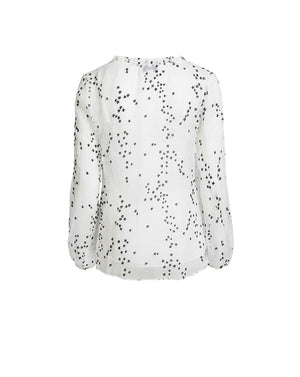 ELLE BLOUSE IN CONSTELLATION