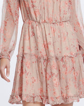 LORELAI MINI DRESS IN DUSTY BLOSSOM