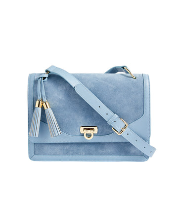 MARYBETH SHOULDER BAG IN BLUEBELL