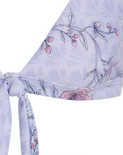 CLAUDINE BIKINI TOP - BLUEBELL BOUQUET