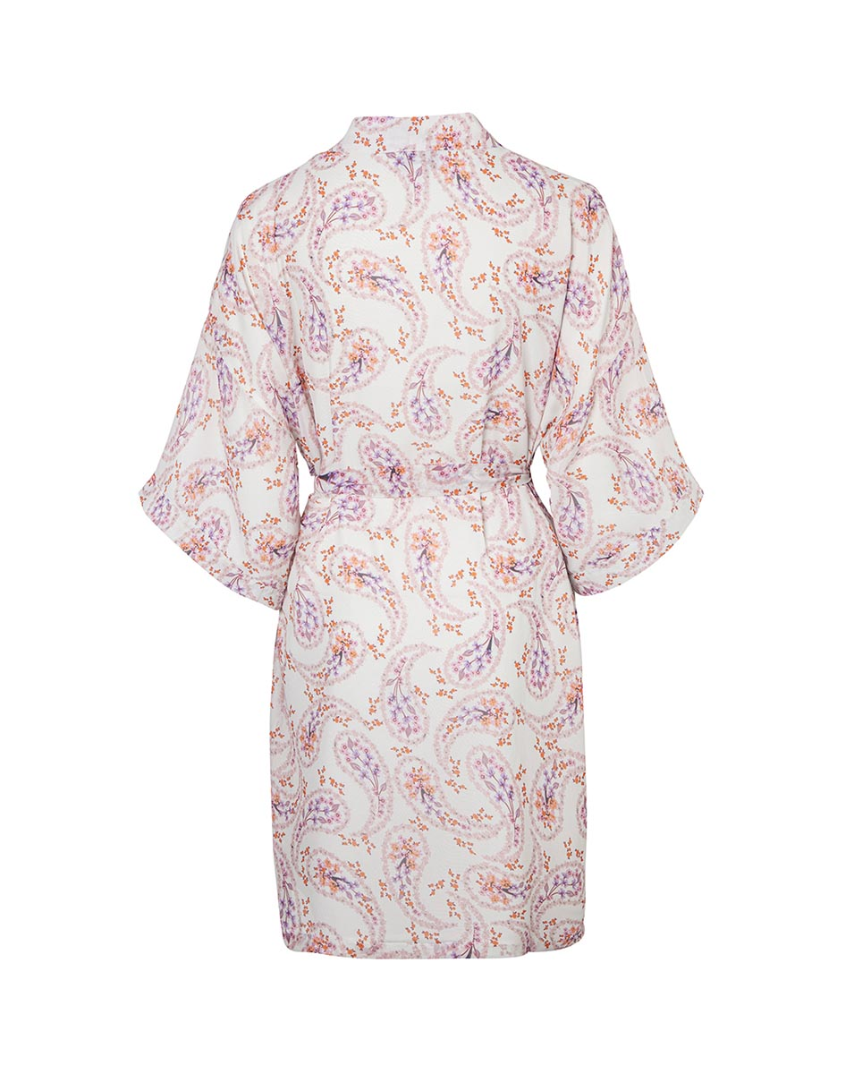 LILY ROSE ROBE IN DAISY PAISLEY