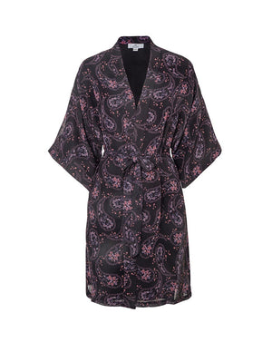LILY ROSE ROBE IN DARK DAISY