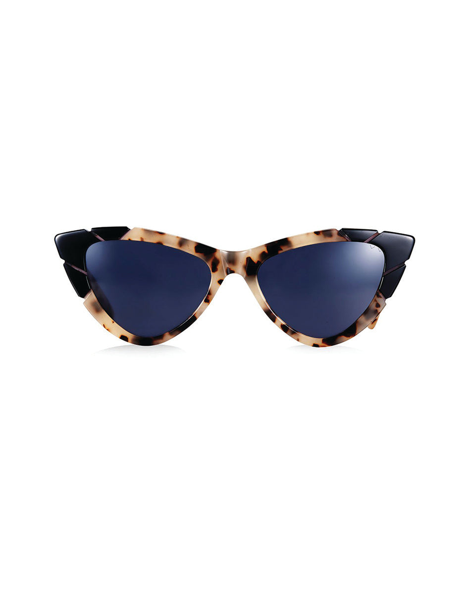 PARED EYEWEAR PICCOLO & GRANDE SUNGLASSES IN COOKIES & CREAM