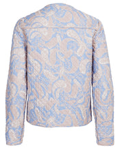 SORRENTO REVERSIBLE BIKER IN CORNFLOWER PAISLEY