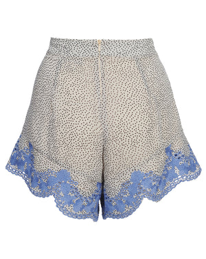 ARGENTINA SHORTS IN BLUE TANGO