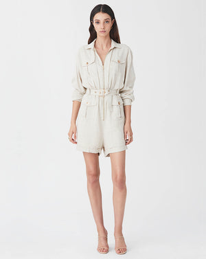 IMOGEN JUMPSUIT IN OATMEAL