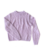 HEART TO HEART KNIT IN LILAC, BY PLAY ETC