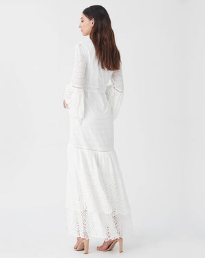 LUA GOWN IN WHITE