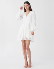 LUA MINI DRESS IN WHITE
