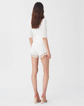 LUA ROMPER IN WHITE