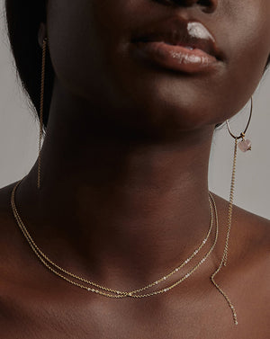 TWIST CHAIN NECKLACE BY PETITE GRAND
