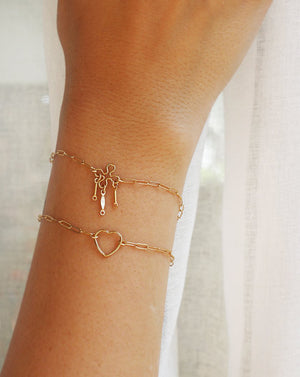 HEART BRACELET BY PETITE GRAND