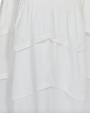 SORRENTO MAXI SKIRT IN IVORY