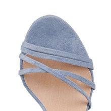 LAREDO SHOE IN STEEL BLUE SUEDE