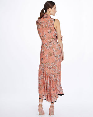 SABINE BIAS DRESS - NECTARINE
